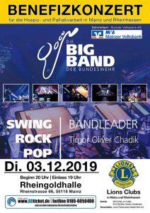 Benefizkonzert BigBand der Bundeswehr 2019